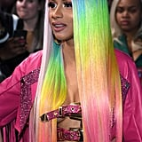 Cardi B Super Long Hair