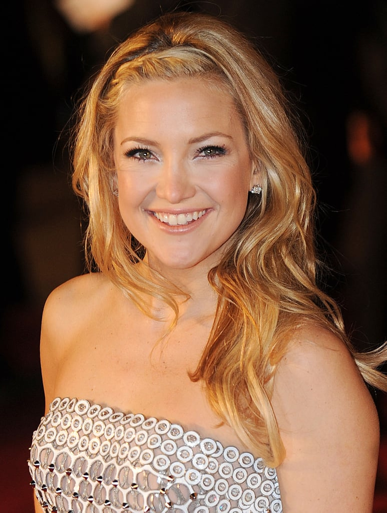 For the world premiere of her film Nine back in 2009, Kate wore her blond waves with a hairline braid.