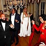 Beyoncé's Post-Grammys Outfit