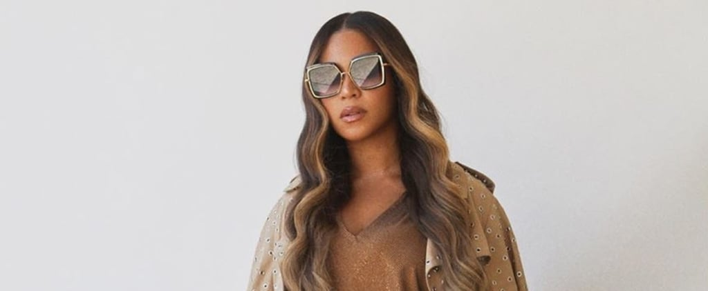 Beyoncé Got Her Natural Hair Trimmed By Her Mum on Instagram