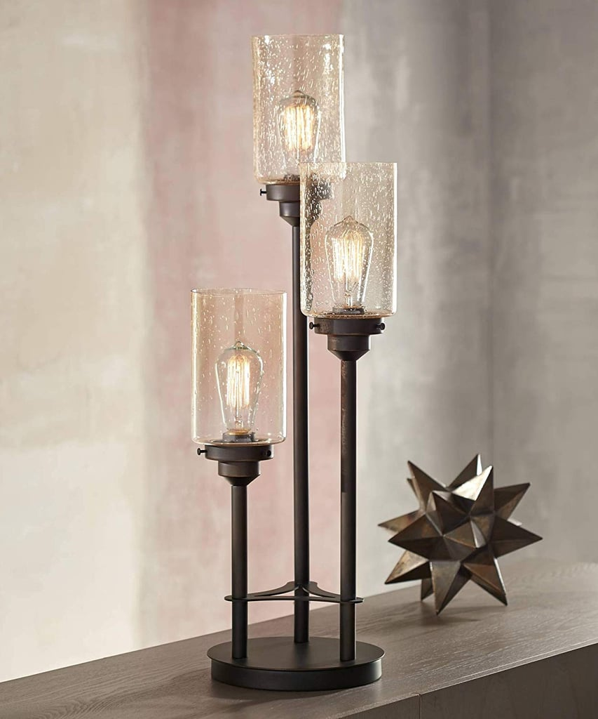 Libby Modern Industrial Console Table Lamp