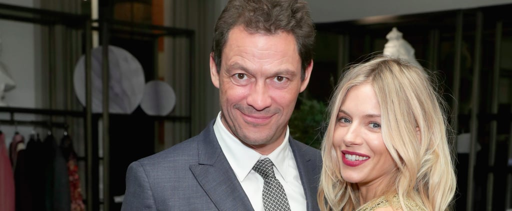 Sienna Miller and Dominic West in NYC with Burberry