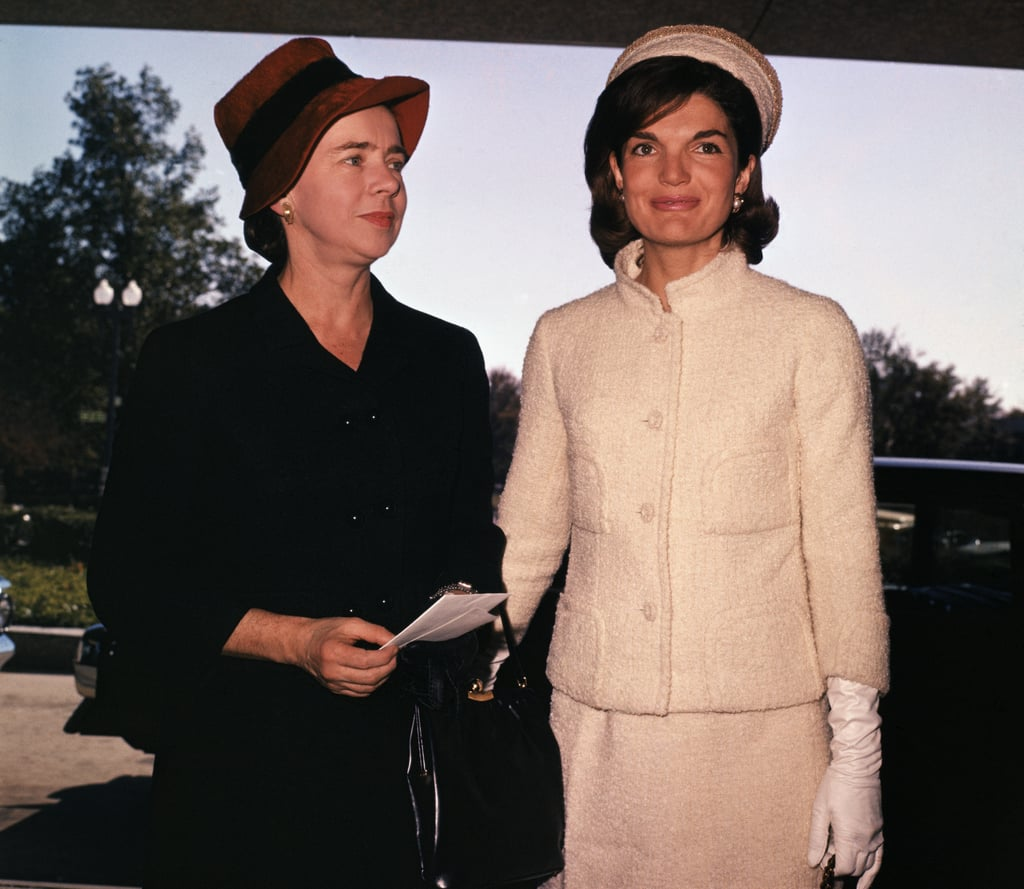 Jackie Kennedy at a Fashion Show at the US State Department