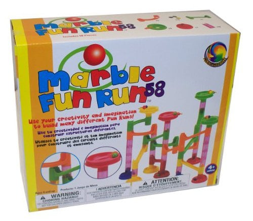 Mega Marbles Marble Fun Run 58 Piece Set