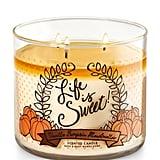 Vanilla Pumpkin Marshmallow candle ($23)