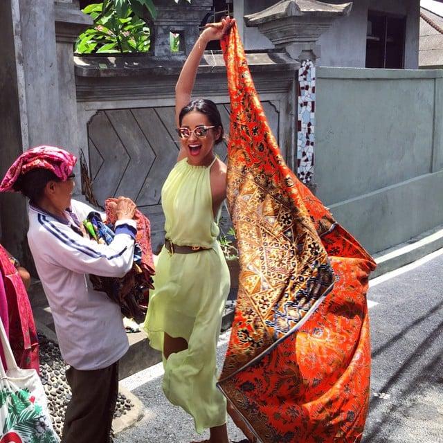 When She Explored Bali