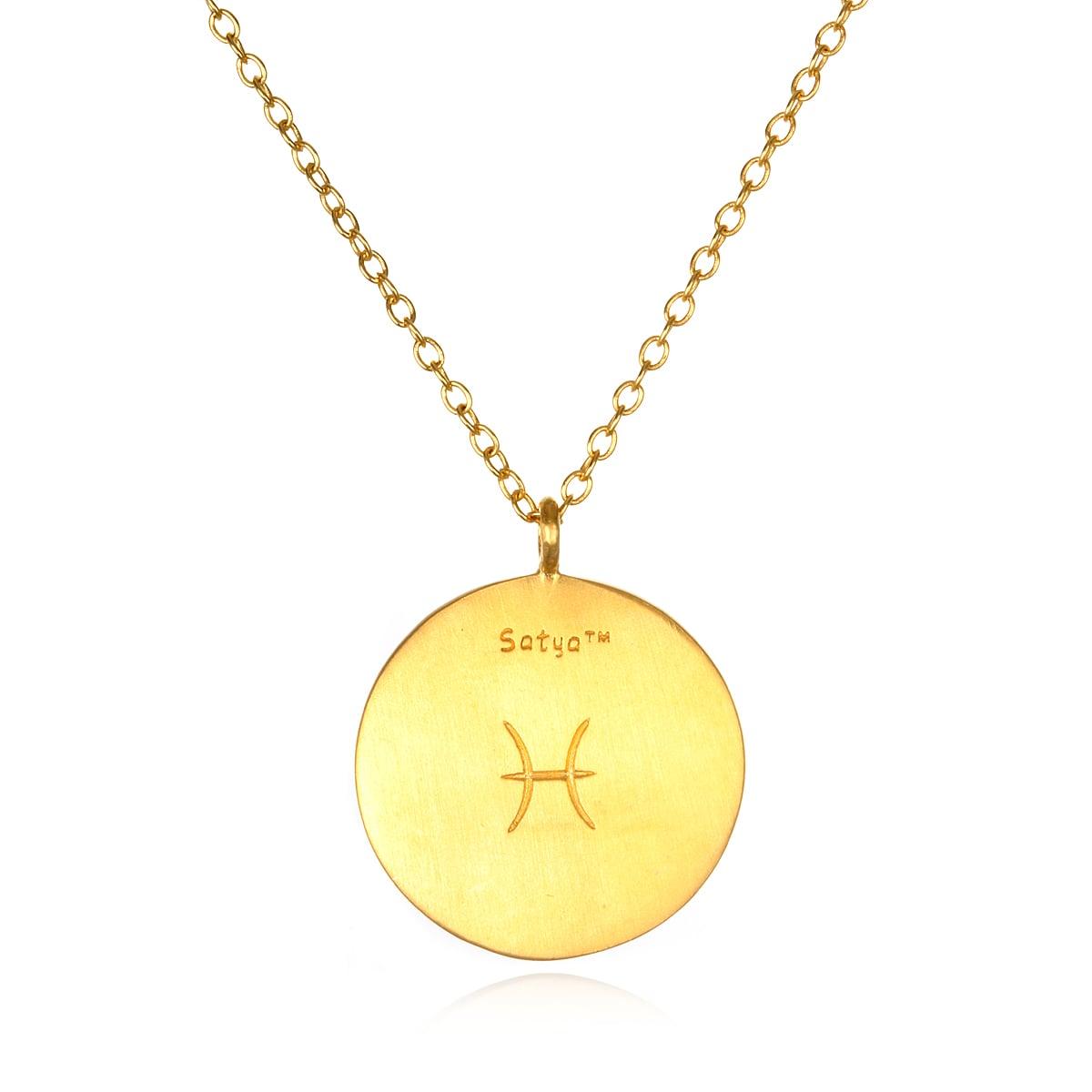 The Noncheesy Zodiac Necklace