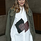Olivia Palermo at Emilia Wickstead