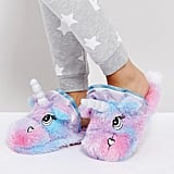 ASOS Nevada Moon Unicorn Slippers