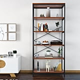 Modrine 5 Shelf Bookcase