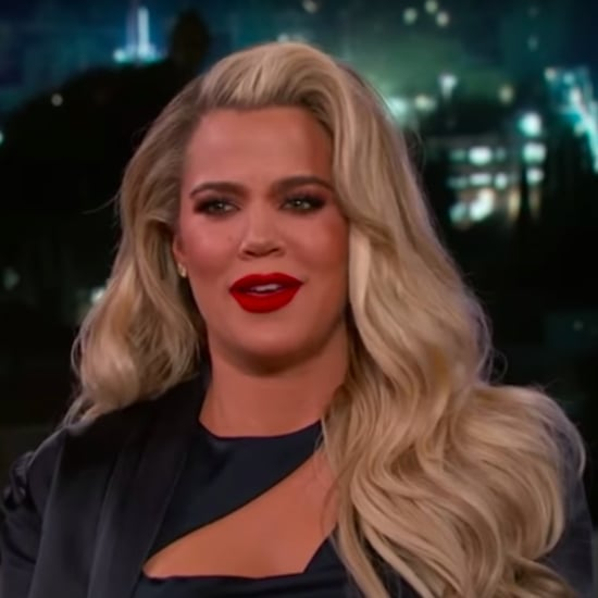 Khloe Kardashian on Jimmy Kimmel Live January 2018