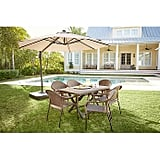 Bed Bath and Beyond 11-Foot Round Solar Cantilever Umbrella