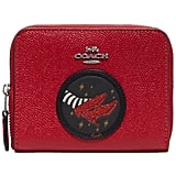 Coach Wizard of Oz Small Zip-Around Leather Wallet