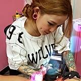 female tattoo artists on instagram popsugar beauty. Black Bedroom Furniture Sets. Home Design Ideas