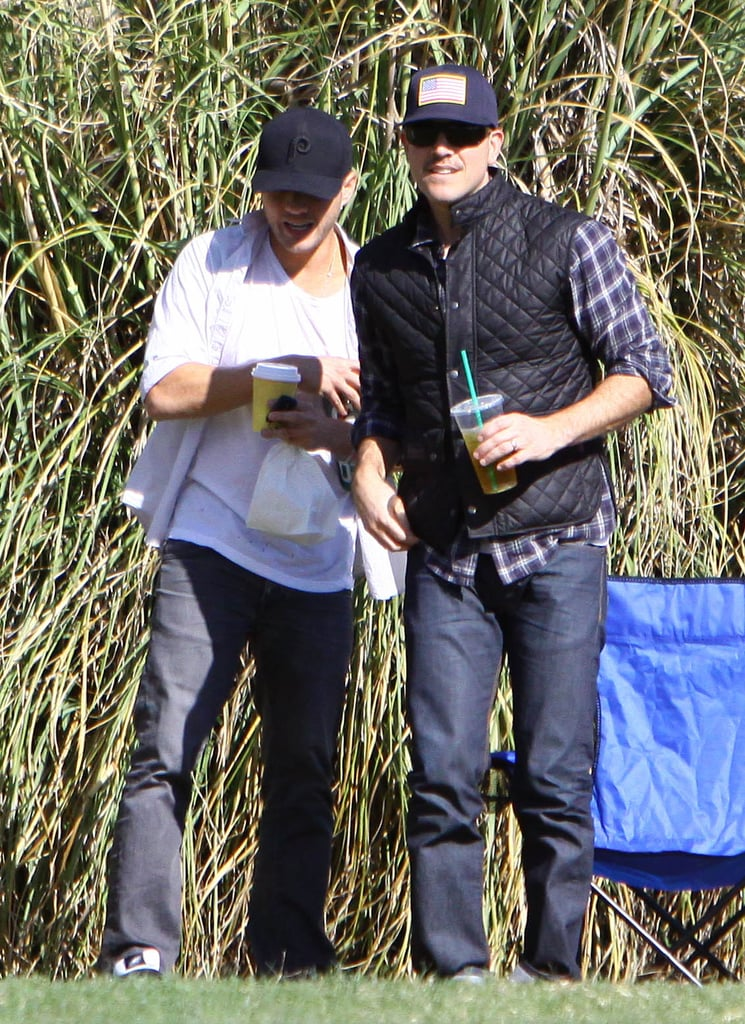 Jim Toth chatted with Ryan Phillippe.