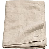 Washed Linen Tablecloth ($50)