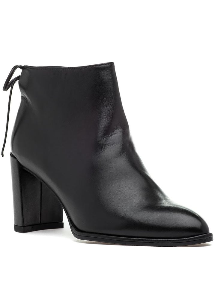 Stuart Weitzman Lofty Leather Bootie