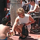 Princess Diana Carrying Her Lady Dior Bag
