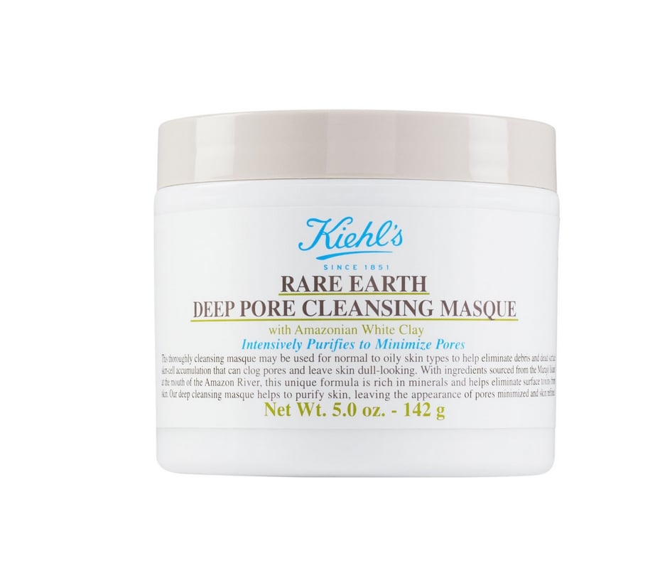 Frances Coombe knows how to take advantage of a great mask and told us she likes Kiehl's clay mask best for fragile skin.