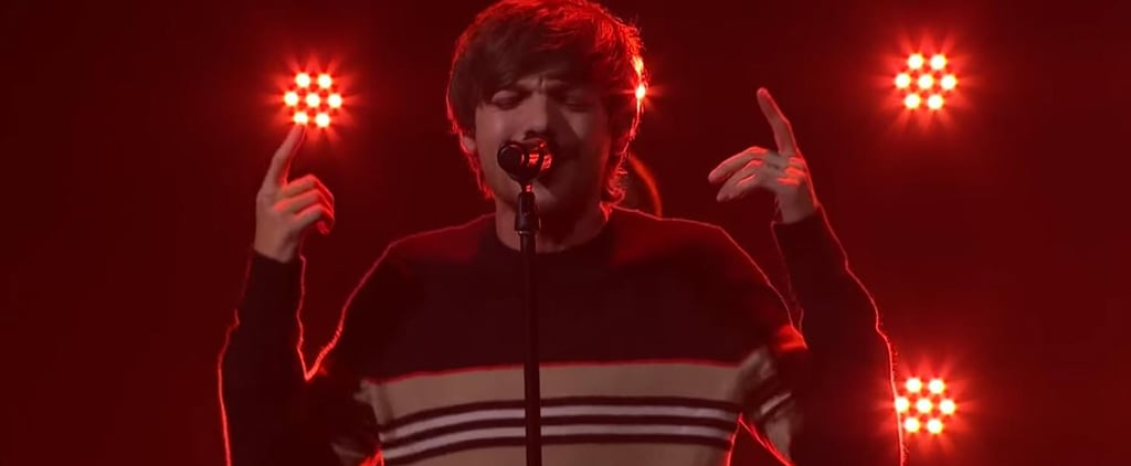 "Louis Tomlinson Performs ""We Made It"" on The Late Late Show"