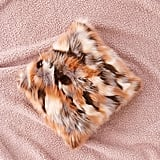 Urban Outfitters Mixed Faux Fur Throw Pillow