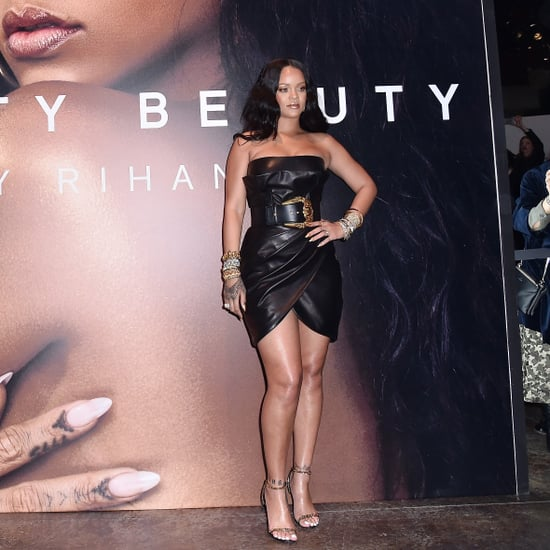 Rihanna's Fenty Beauty Body Lava Look
