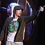 """23: His age when daughter Hailie was born.  30: The number of seconds it took him to write the hook for """"Just Lose It.""""   50: The approximate number of songs he makes for every album before deciding on the final tracklist.  60: The number of minutes it took him to write """"My Name Is"""" during his first meeting with Dr. Dre."""