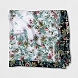 A New Day Floral Large Square Scarf