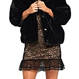 Bardot Pia Faux Fur Jacket