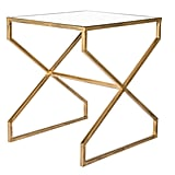 Brass Metal Accent Table ($80)