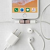 Mini Lightning Headphone and Charging Cable Splitter