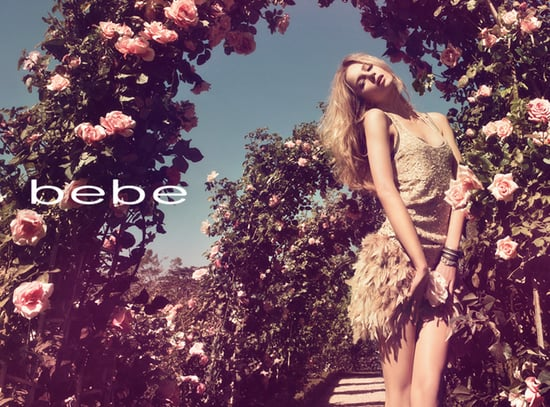 Bebe Spring Summer Ad Campaign Featuring Anne Marie Van Dijk