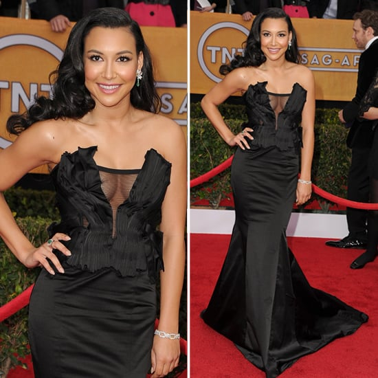 Glee's Naya Rivera in Sexy Donna Karan at 2013 SAG Awards