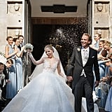 Victoria Swarovski and Werner Muerz on Their Wedding Day