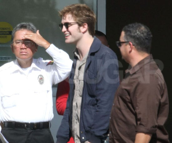 Slide Photo of Robert Pattinson At Rite Aid in LA