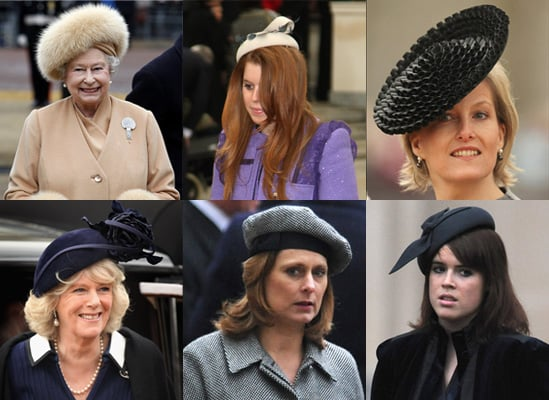 Hats on Royal Family, Sarah Brown