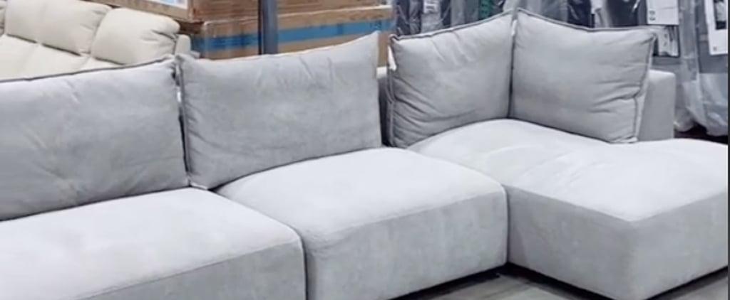See Costco's Gilman Creek Macon Fabric Sofa