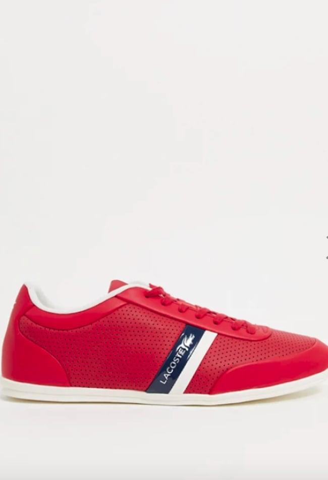 Lacoste Storda Sneakers in Red