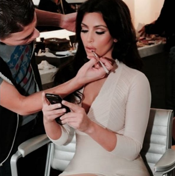 Kim Kardashian's Makeup Artist Divulges His Top Drugstore Beauty Products