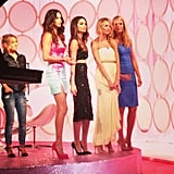 Adriana Lima, Lily Aldridge, Candice Swanepoel, and Erin Heatherton were all there to divulge their secret styling tips. Don't you just love how each has their own distinct style?