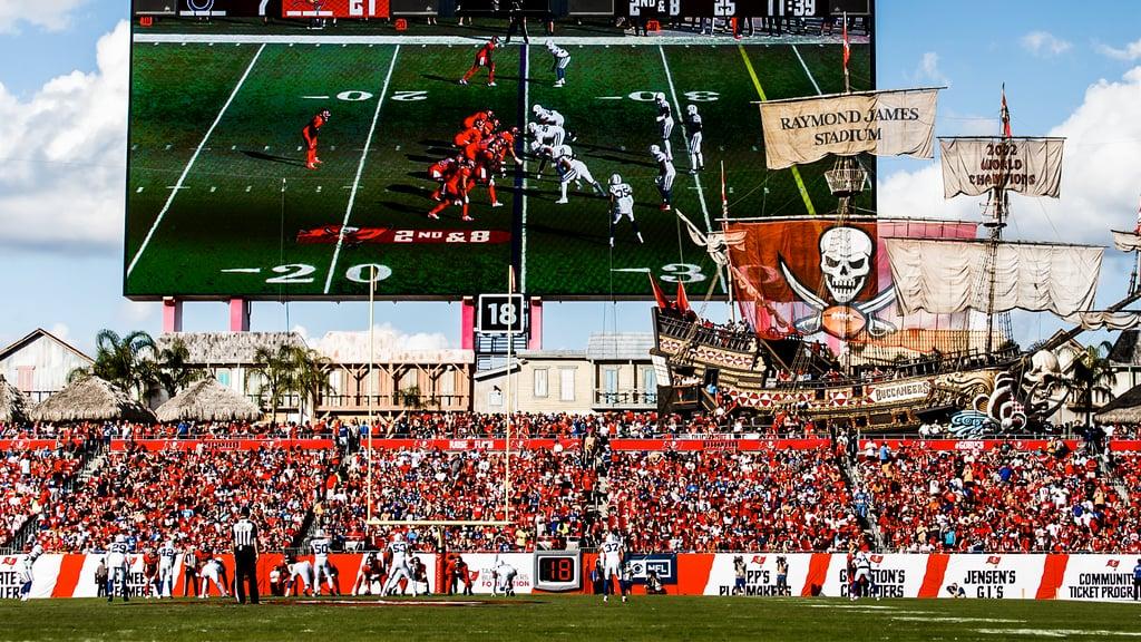 Tampa Bay Buccaneers Stadium Zoom Background
