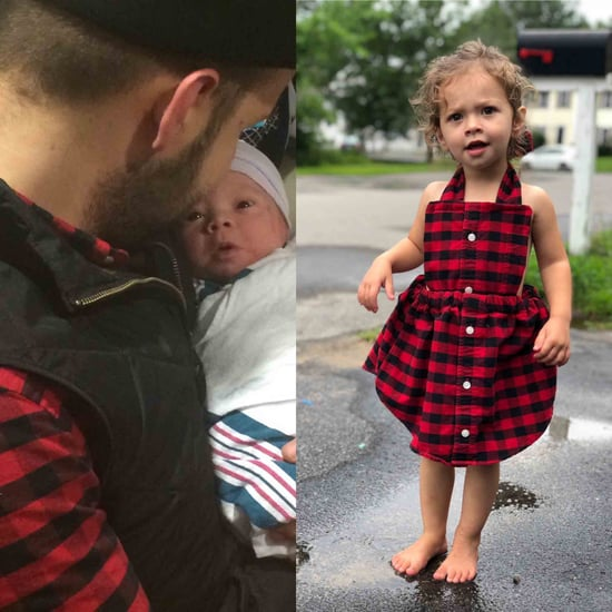 Mom Makes Daughter a Dress Out of Husband's Shirt
