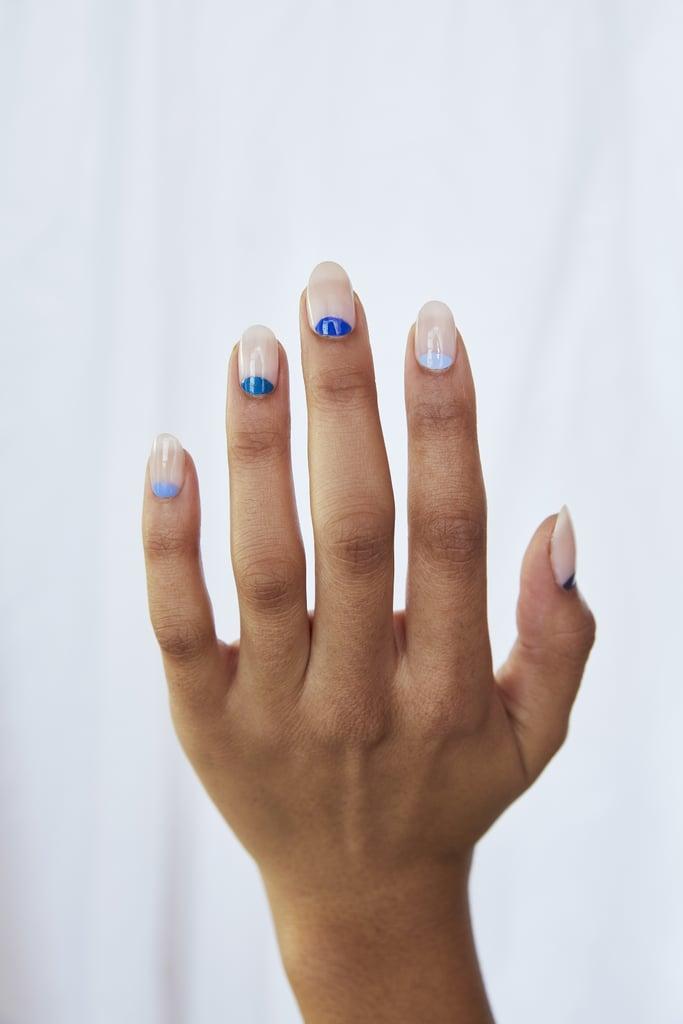 Spring Nail Art Trend: Blue Moon