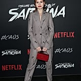 Madelaine Petsch at the Chilling Adventures of Sabrina Premiere in 2018