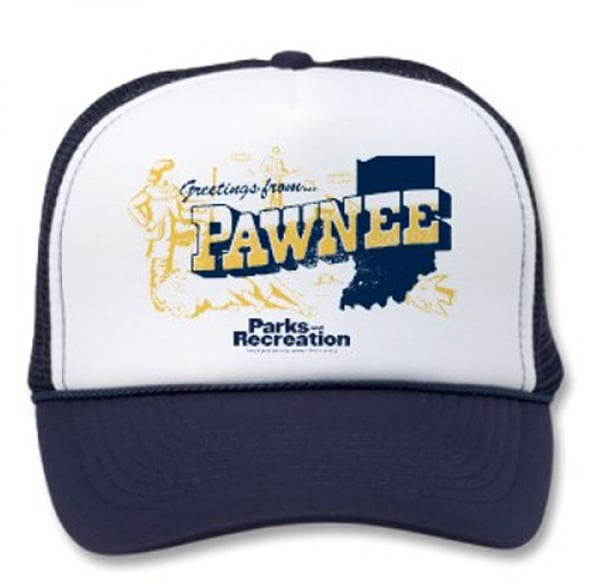 Greetings From Pawnee Trucker Hat ($15)