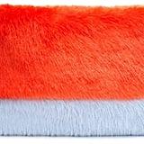 Shrimps Orange Faux-Fur Pablo Clutch