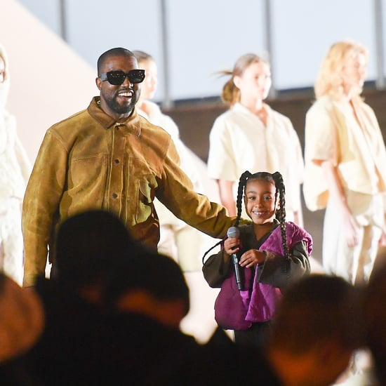 North West Performing at Yeezy Paris Fashion Show 2020