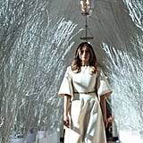 Melania Trump White House Holiday Decorations Reaction Memes