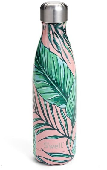S'well 'Palm Beach' Stainless Steel Water Bottle
