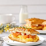 Smoked Salmon and Egg Breakfast Mille-Feuille